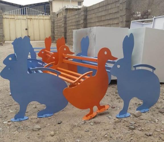 تولید مبلمان شهری CNC | ترموکات